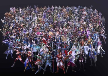 170 characters featured in Warriors Orochi 4