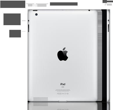 iPad nuovo di 4 generazione