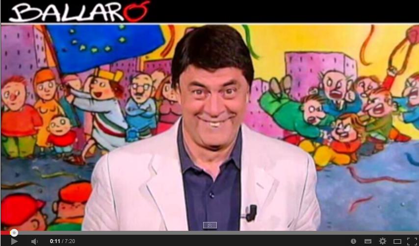 Copertina Crozza Ballarò 2014 puntata del 27 maggio video youtube