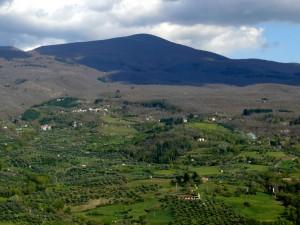 veduta di monte Amiata, viaggi in Toscana