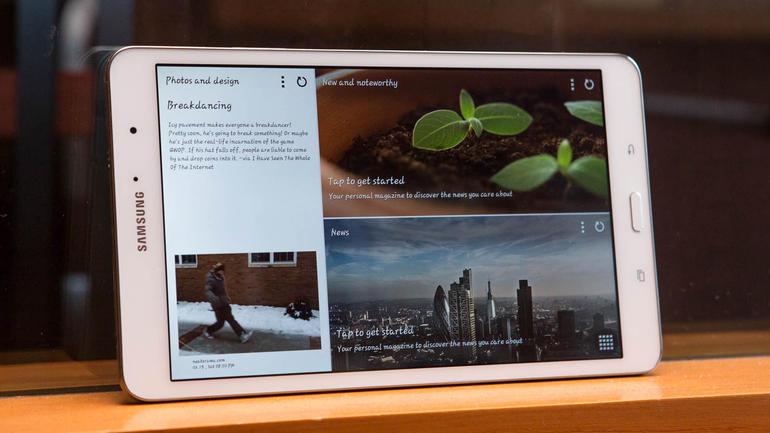 Samsung-Galaxy-Tab-4 il nook per la sola lettura ma anche per il divertimento