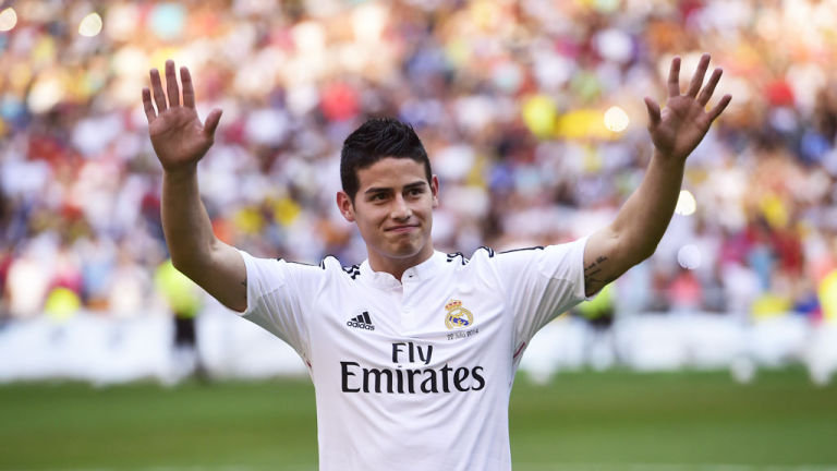 james-rodriguez-james-rodriguez-real-madrid siviglia 12 agosto 2014 finale supercoppa diretta tv e streaming live highlights gol