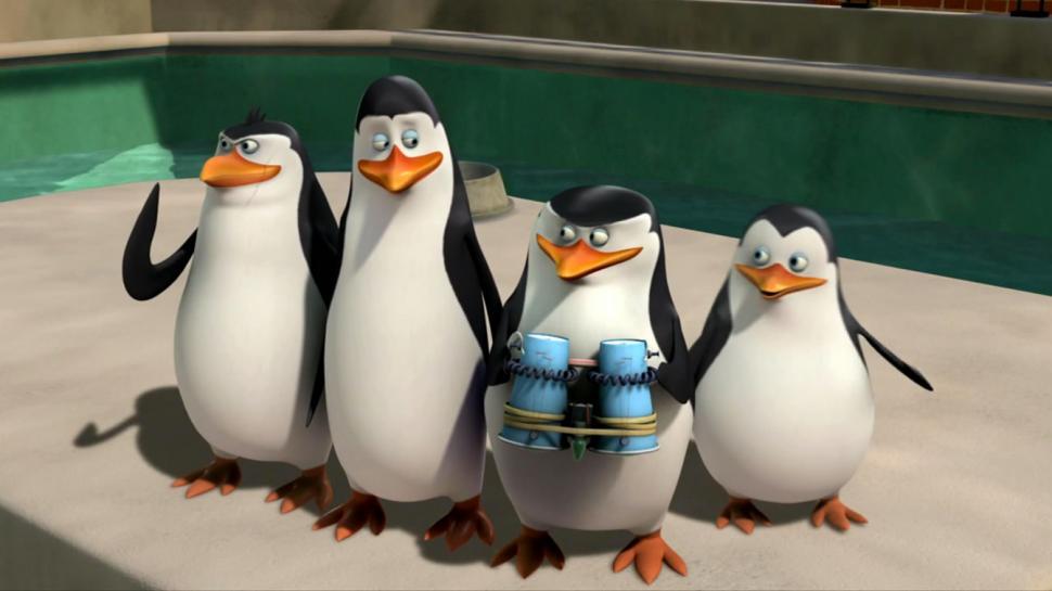 I-pinguini-di-madagascar approdano oltre che al cinema su nintendo 3ds e wii u