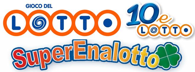 Lotto 10elotto supernalotto diretta numeri estratti estrazione lottomatica