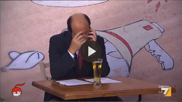 bersani crozza copertina video di martedi
