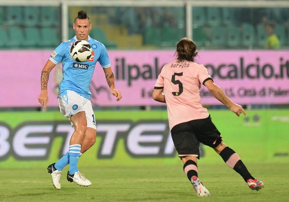 napoli palermo diretta streaming live diretta gol highlights sintesi replica