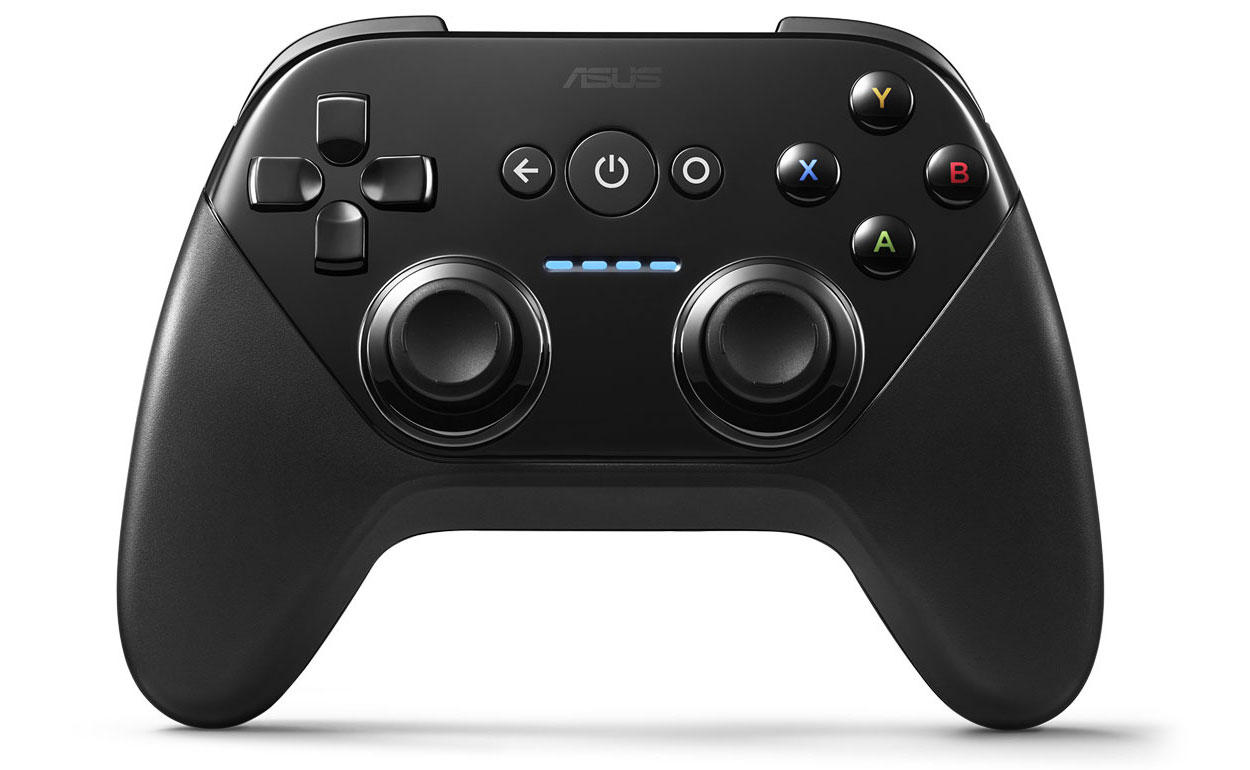asus nexus player game console di google a 99 dollari il gamepad