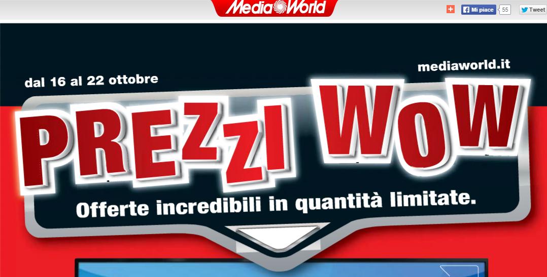 volantino mediaworld dal 16 ottobre al 22 ottobre smartphone tablet pc smart tv ps4 note 4