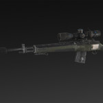 Ballance S-AR + silencer + extended magazine + NATO 6x, 8x, 10x scope