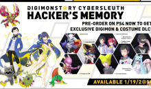 Digimon Story: Cyber Sleuth – Hacker's Memory disponibile su PS4 e Vita, caratteristiche e video
