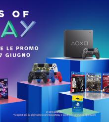 Days of Play 2019: Dal 7 al 17 giugno sconti su hardware, giochi,  servizi/abbonamenti e periferiche Playstation