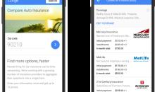 Google Compare: Ecco il comparatore per assicurazioni auto, carte di credito e finanza