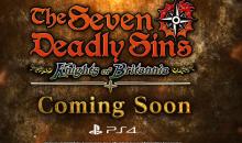 The Seven Deadly Sins: Knights of Britannia, trailer di annuncio di Bandai Namco