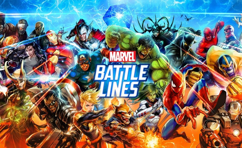 MARVEL Battle Lines_Key Art