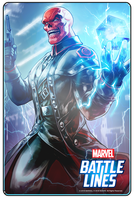 MARVEL Battle Lines_Red Skull