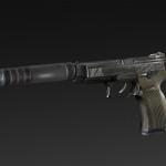MP-40 Grad + silencer