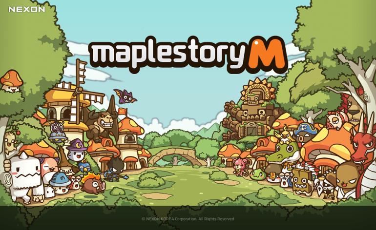 Maple Story M_Artwork