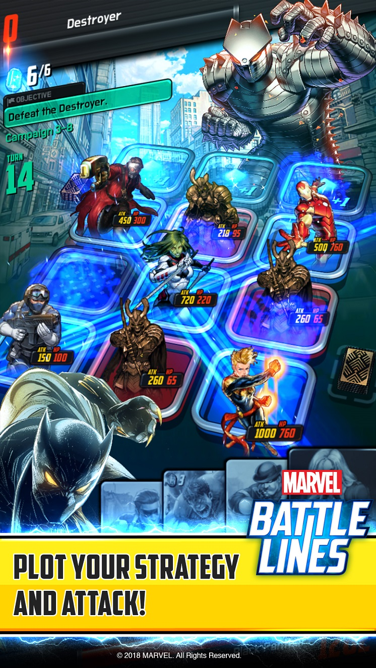 Marvel Battle Lines_Deck