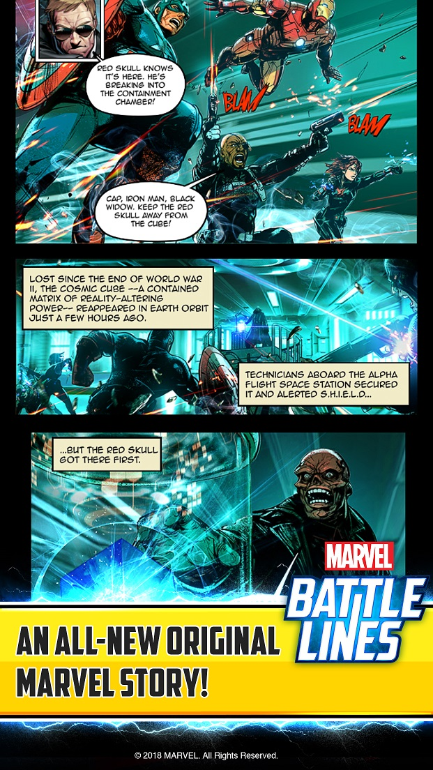 Marvel Battle Lines_Story