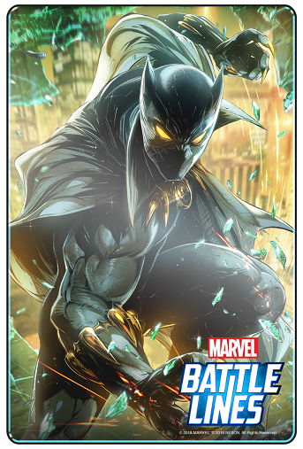 Marvel Batttle Lines_BlackPanther