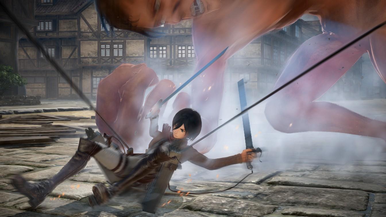 Mikasa_Battle