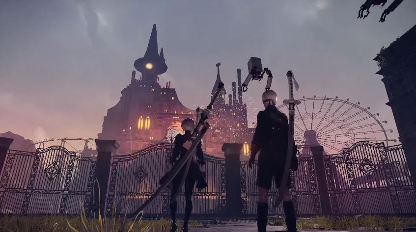 Nier Automata story trailer e altre novità rivelate da square enix