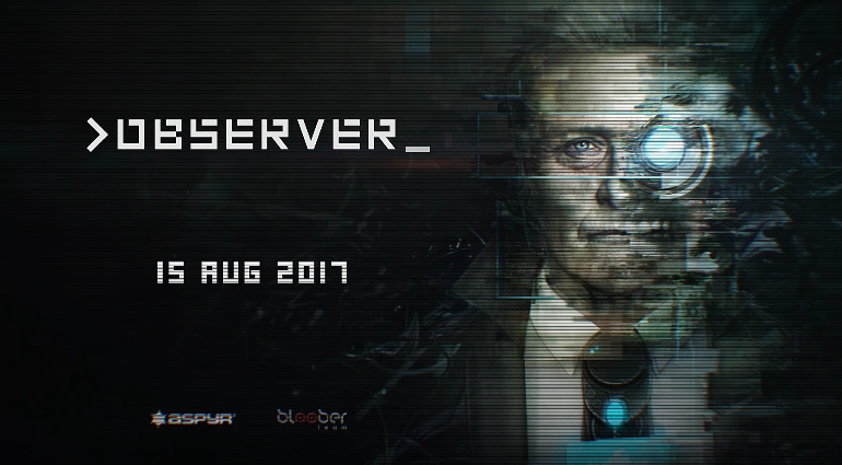 OBSERVER LAUNCH TRAILER E DATA USCITA PS4 XB1 E PC