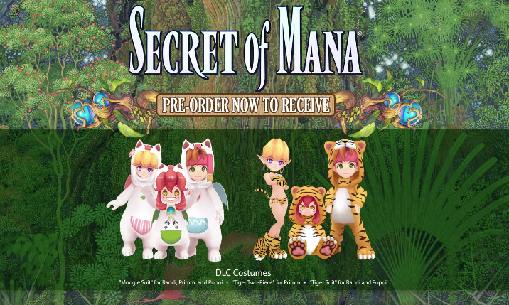 SECRET OF MANA PREORDER