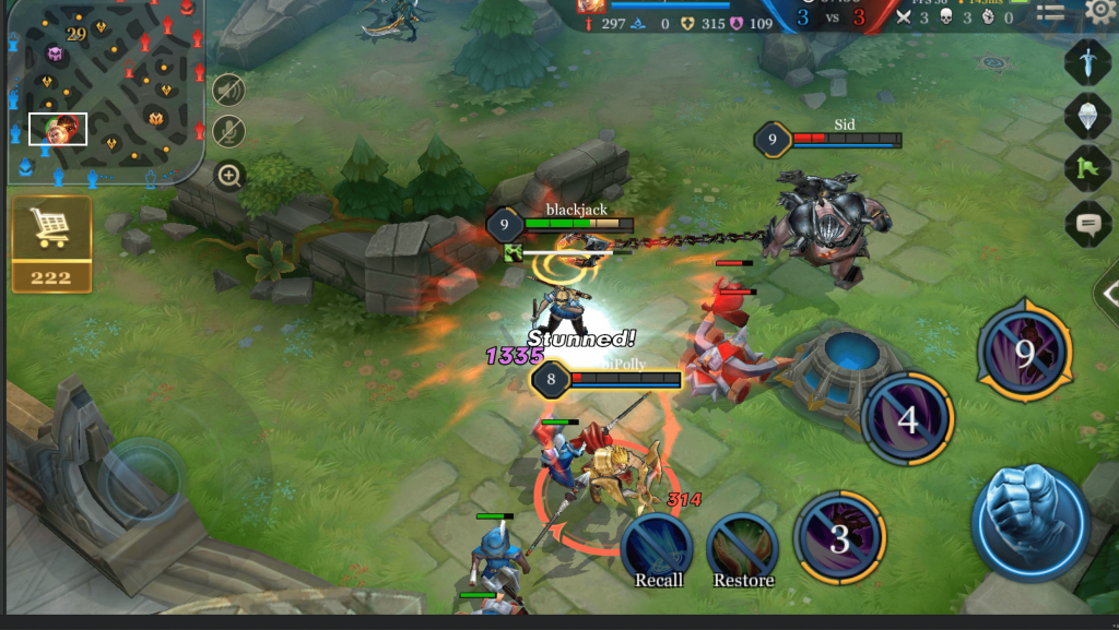 arena battle
