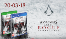 Assassin's Creed Rogue Remastered disponibile per Xbox One X e PS4 PRO