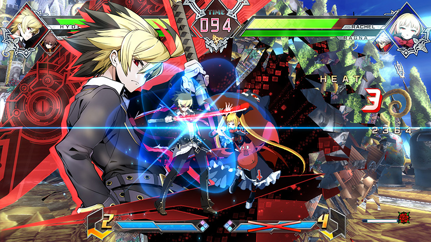 blazblue cross tag battle2