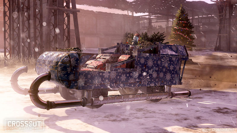 crossout christmas