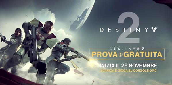 destiny 2 prova gratuita