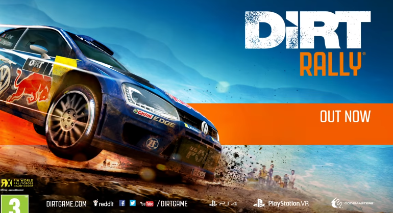 dirt rally ps vr