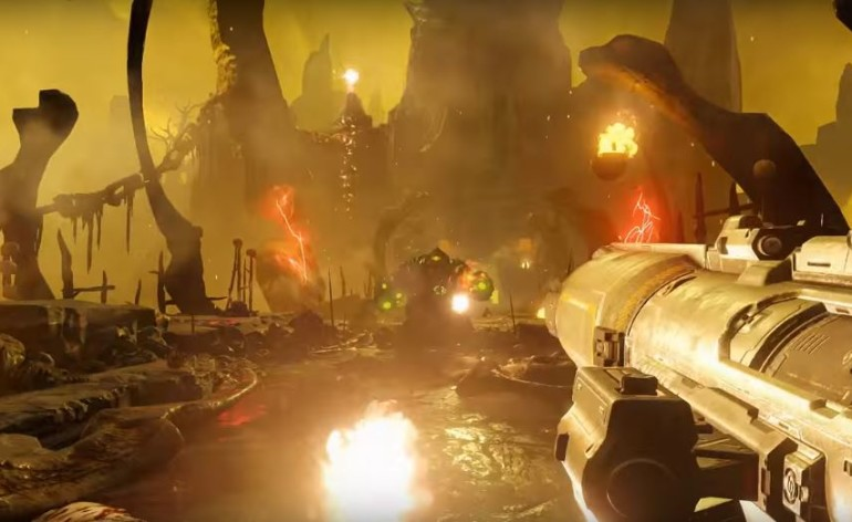 doom uscita ps4 pc xbox one