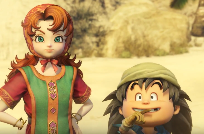 dragon quest heroes 2 maribel e rolf