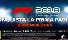"""F1 2018: Titolo disponibile, pronti a """"Conquistare la prima pagina"""""""