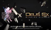 FINAL FANTASY BRAVE EXVIUS si arricchisce con i potenziamenti di DEUS EX: MANKIND DIVIDED