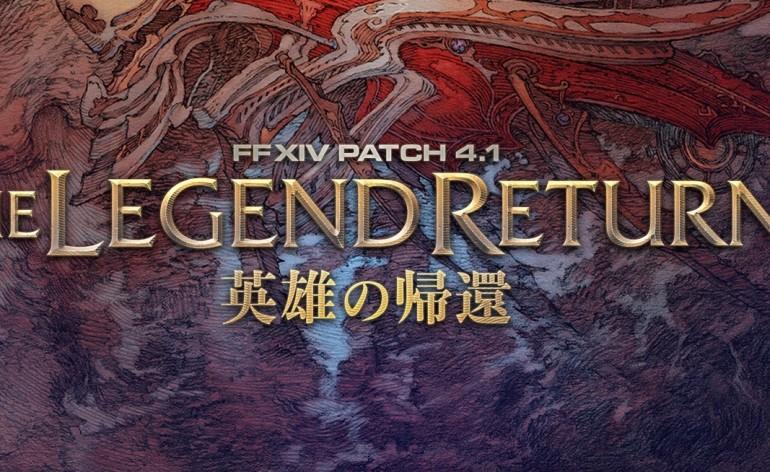 ffxiv the legend returns