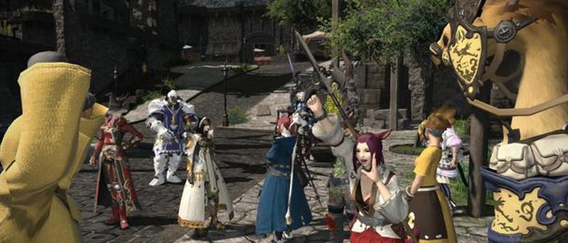 final fantasy xiv a realm reborn per play station 4 free gratis trial