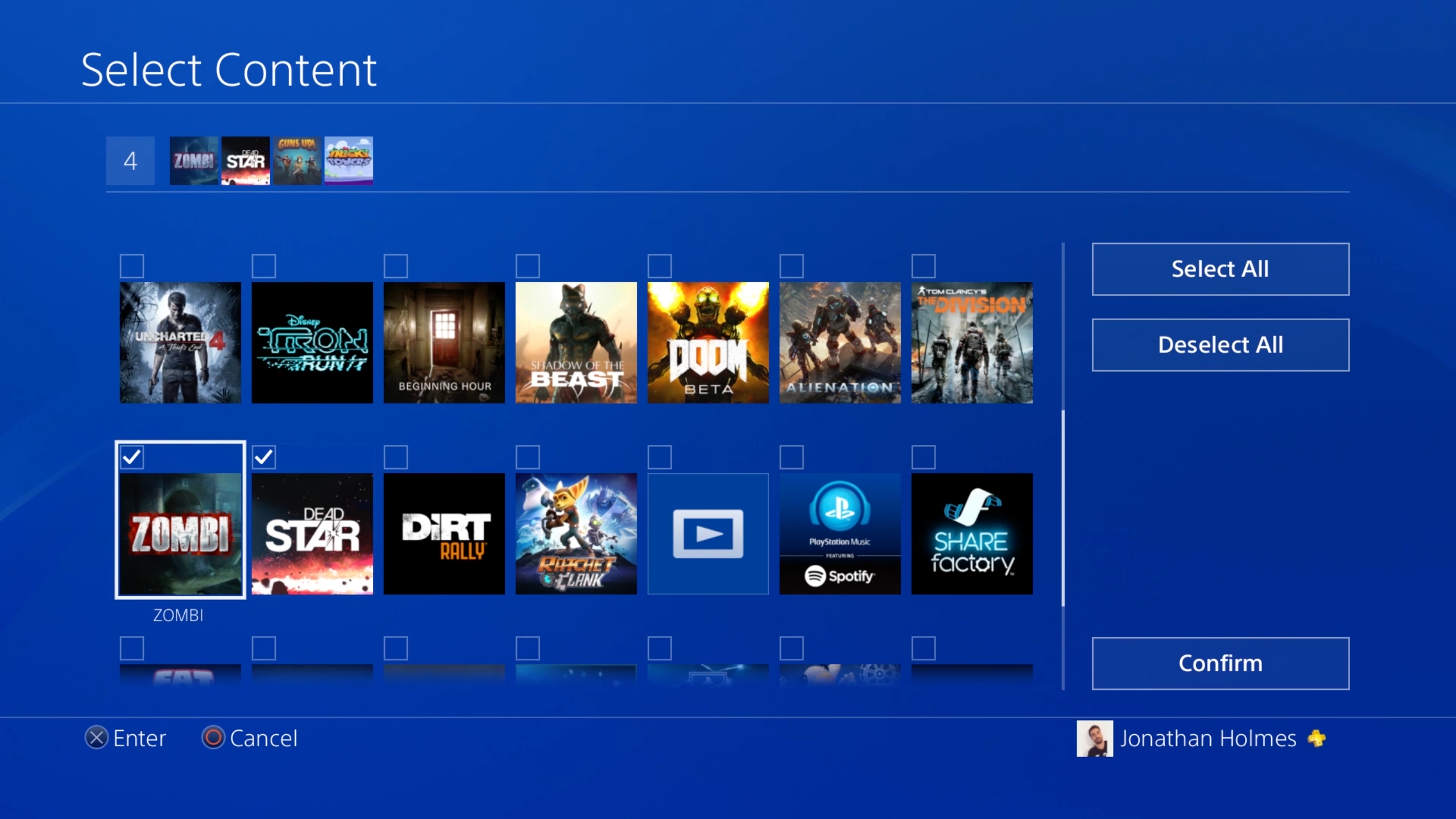 gestione-cartelle-ps4