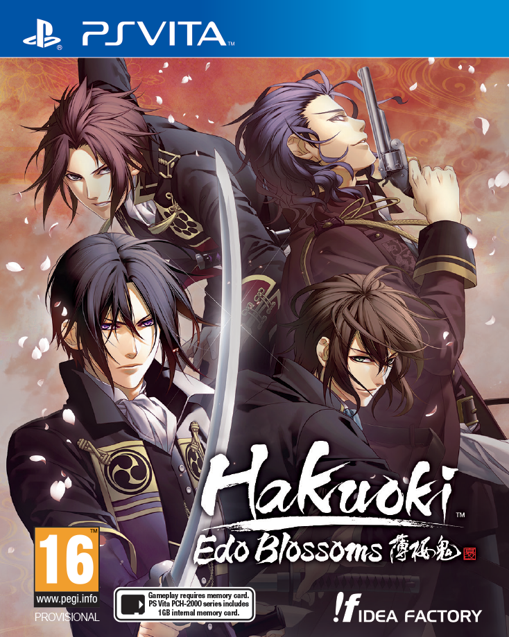 hakuoki edo blossoms cover