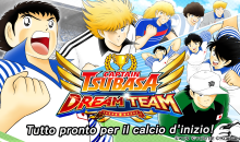 Captain Tsubasa: Dream Team disponibile da oggi in tutto il mondo per iOS e Android