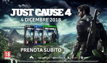 "Just Cause 4: Première mondiale e nuovo gameplay ""Il tornado"""