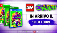 LEGO DC Super Villains: in arrivo il 19 ottobre su PS4, XB1, Switch e PC