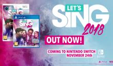 LET'S SING 2018, il titolo a ritmo di musica in uscita su PS4, Nintendo Switch e Wii