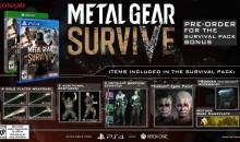 Metal Gear Survive: il survival action annunciato per febbraio 2018 in EU e US