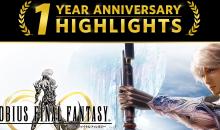 Mobius Final Fantasy festeggia il primo anniversario con ricompense speciali