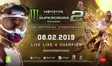 Monster Energy Supercross – The Official Videogame 2 annunciato oggi per PS4, PC, XB1 e Switch