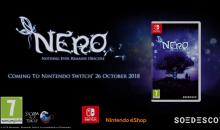 """L'affascinante avventura """"N.E.R.O."""" arriva su Nintendo Switch il 26 ottobre"""